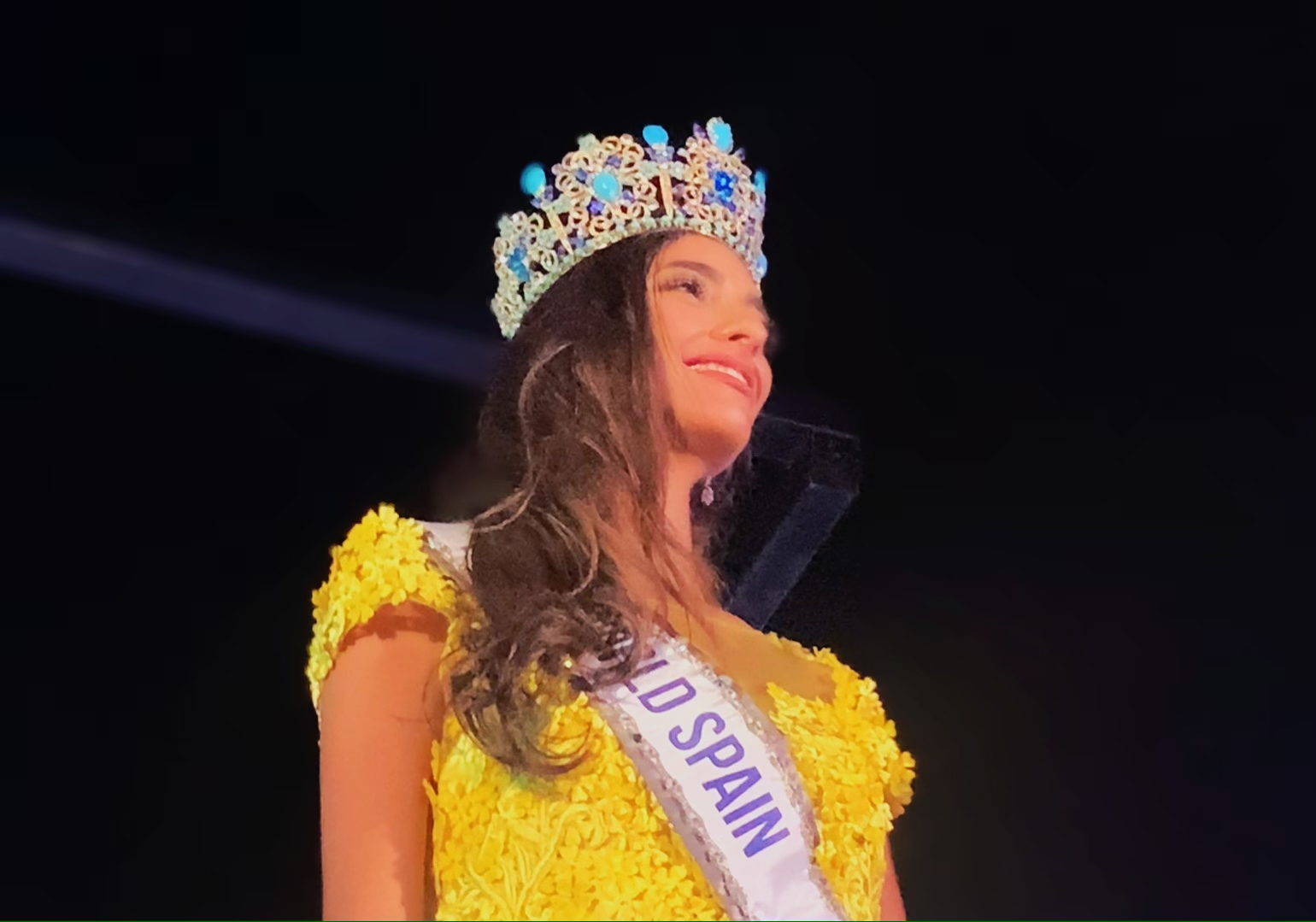 MISS WORLD SPAIN ES UNA ANDALUZA AMANTE DE LAS LEYES