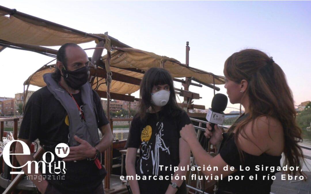 ENTREVISTA A LA TRIPULACIÓN DE 'LO SIRGADOR' TURISMO RURAL POR EL RÍO EBRO
